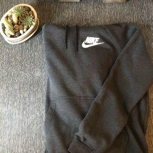 Nike sweatshirt. Light worn